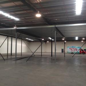 Mezzanine Floor Installed in Net work 7