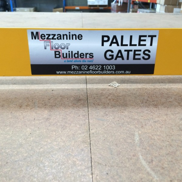 Call for a free quote on our pallet gates