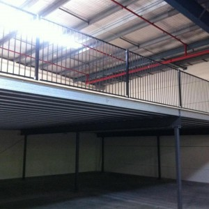 Mezzanine Floor install