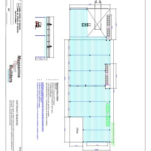Mezzanine floor Drawing