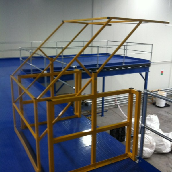Mezzanine Pallet Gate : Pallet safety gate